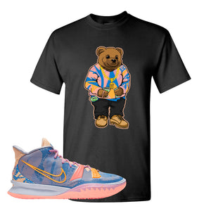 Kyrie 7 Expressions T-Shirt | Sweater Bear, Black