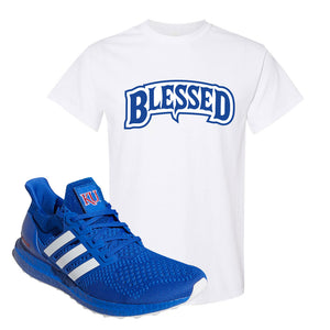 Ultra Boost 1.0 Kansas T Shirt | Blessed Arch, White