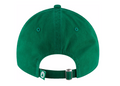 the back of the Boston Celtics dad hat is a green adjustable strap