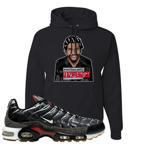 Air Max Plus Remix Pack Hoodie | Escobar Illustration, Black