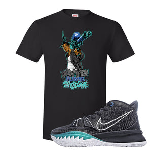 Kyrie 7 Pre Heat T-Shirt | Dont Hate The Playa, Black