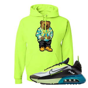 Air Max 2090 Volt Hoodie | Sweater Bear, Safety Green