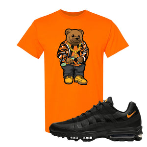Air Max 95 Ultra Spooky Halloween T Shirt | Sweater Bear, Safety Orange