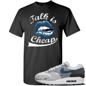 Air Max 1 London City Pack T Shirt | Black, Talk Is Cheap