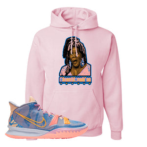 Kyrie 7 Expressions Hoodie | Oh My Goodness, Light Pink