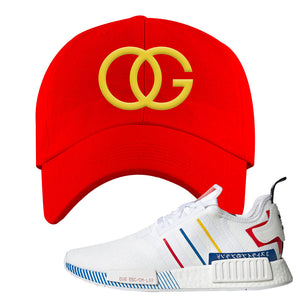 NMD R1 Olympic Pack Dad Hat | Red, OG