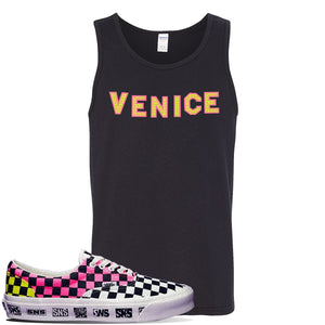 Vans Era Venice Beach Pack Tank Top | Black, Venice Sign