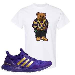Ultra Boost 1.0 Washington T Shirt | Sweater Bear, White