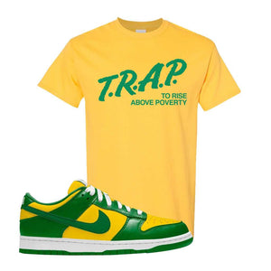 SB Dunk Low Brazil  T Shirt | Daisy, Trap To Rise Above Poverty