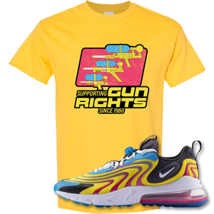 Water Soaker Daisy T-Shirt to match Air Max 270 React ENG Laser Blue Sneakers