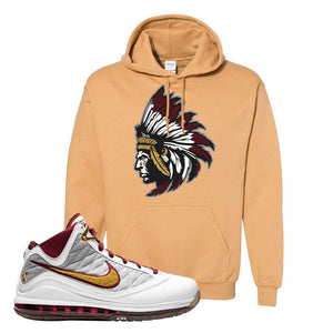 LeBron 7 MVP Hoodie | Old Gold, Indian Chief