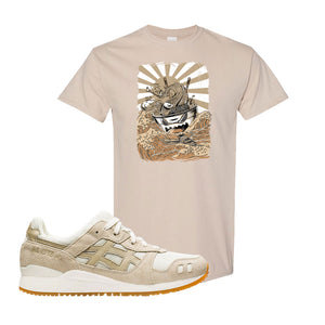 GEL-Lyte III 'Monozukuri Pack' T Shirt | Sand, Ramen Monster