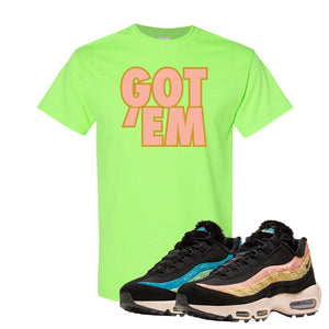Air Max 95 Sergio Lozano T Shirt | Got Em, Neon Green