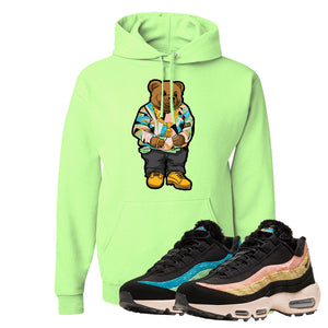 Air Max 95 Sergio Lozano Hoodie | Sweater Bear, Neon Green