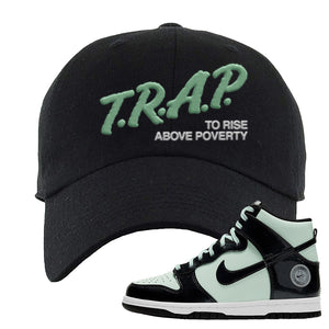 Dunk High All Star 2021 Dad Hat | Trap To Rise Above Poverty, Black