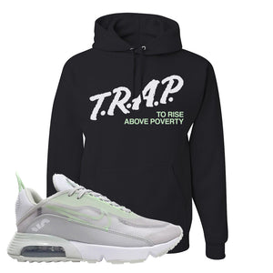 Air Max 2090 'Vast Gray' Hoodie | Black, Trap To Rise Above Poverty