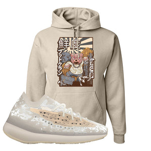 Yeezy Boost 380 'Pepper' Hoodie | Sandstone, Attack Of The Bear