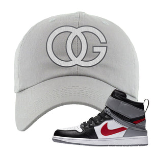 Air Jordan 1 Flyease Dad Hat | Light Gray, OG