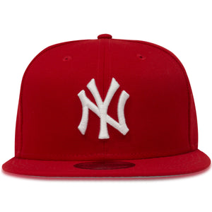 New York Yankees Red Colorway 9Fifty Snapback Hat