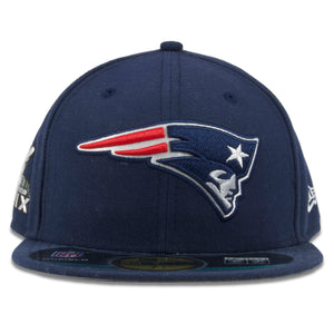 New England Patriots Super Bowl XLIX Metallic Champion Patch 59Fifty Fitted Cap