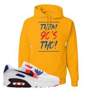 Air Max 90 Paint Streaks Hoodie | Them 90s Tho, Gold