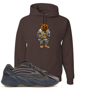 Yeezy Boost 700 Geode Sneaker Hook Up Polo Sweater Bear Brown Hoodie