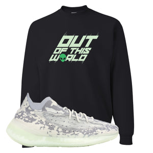 Yeezy 380 Alien Crewneck Sweatshirt | Black, Outta This World