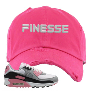 WMNS Air Max 90 Rose Pink Finesse Pink Women's T-Shirt To Match Sneakers