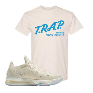 Lebron 17 Low Bone T Shirt | Natural, Trap To Rise Above Poverty