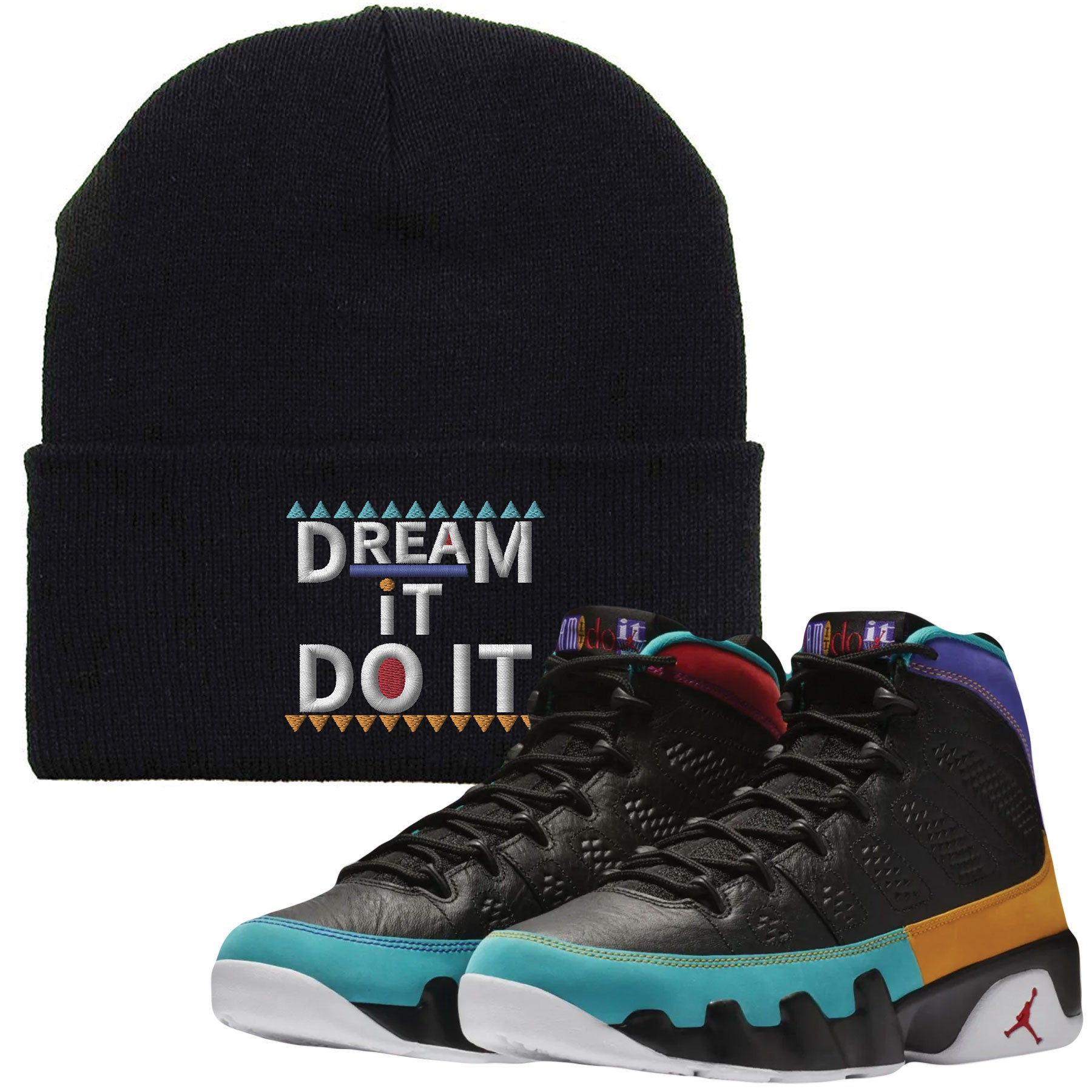 check out eb68e 3026d Shop sneaker matching clothing to match your pair of Jordan 9 Dream It Do It  Sneakers