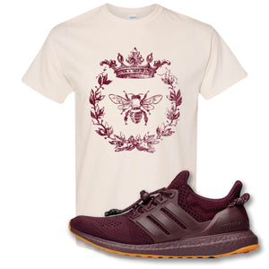 Royal Bee Leaf Natural T-Shirt to match Ivy Park X Adidas Ultra Boost Sneaker