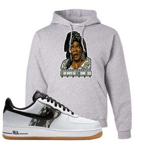 Air Force 1 Low Camo Hoodie | Oh My Goodness, Ash