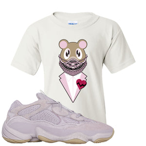 Yeezy 500 Soft Vision Yeezy Sneaker Mask White Sneaker Hook Up Kid's T-Shirt