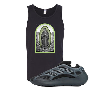 Yeezy 700 v3 Alvah Tank Top | Black, Virgin Mary