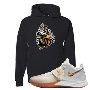 Kyrie Flytrap 3 Summit White Hoodie | Indian Chief, Black