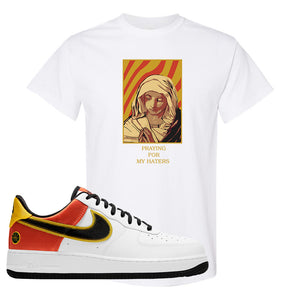 Air Force 1 Low Roswell Rayguns T Shirt | God Told Me, White