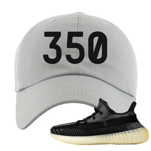 Yeezy Boost 350 v2 Carbon Dad Hat | 350, Light Gray