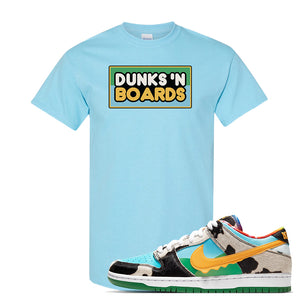 SB Dunk Low 'Chunky Dunky' T Shirt | Sky, Dunks 'N Boards
