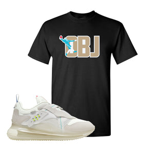 Air Max 720 OBJ Slip White T Shirt | Black, OBJ Catch