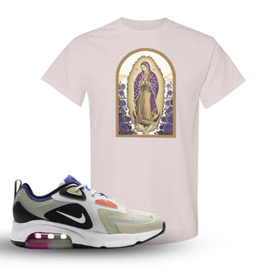 Air Max 200 WMNS Fossil Sneaker Natural T Shirt | Tees to match Nike Air Max 200 WMNS Fossil Shoes | Virgin Mary