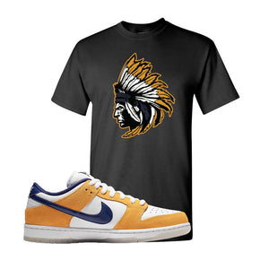 SB Dunk Low Laser Orange T Shirt | Black, Indian Chief