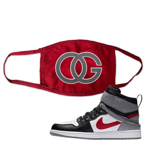 Air Jordan 1 Flyease Face Mask | Red, OG