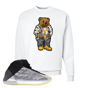 Yeezy Quantum Crewneck | White, Sweater Bear