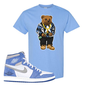 Air Jordan 1 High Hyper Royal T-Shirt | Sweater Bear, Carolina Blue