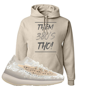 Yeezy Boost 380 'Pepper' Hoodie | Sandstone, Them 380's Tho