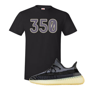 Yeezy Boost 350 V2 Asriel Carbon T-Shirt | 350, Black