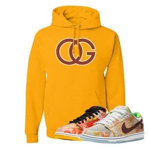 SB Dunk Low Street Hawker Hoodie | OG, Gold