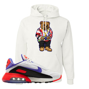 Air Max 2090 Evolution Of Icons Hoodie | Sweater Bear, White
