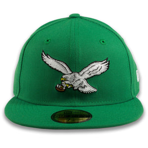 Vintage Eagles Fitted hat | Grey bottom retro eagles fitted hat | Buddy Ryan Grey bottom fitted