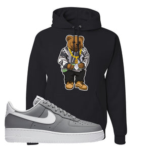 Air Force 1 Low Wolf Grey White Hoodie | Black, Sweater Bear